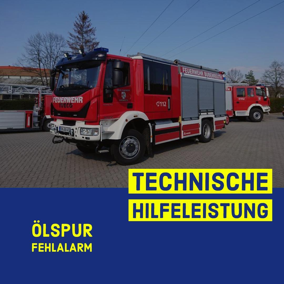 Technische Hilfeleistung THL 1 Ölspur