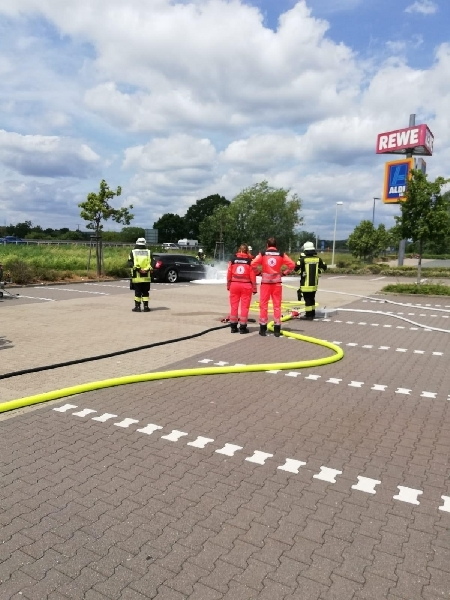 Brandeinsatz B1