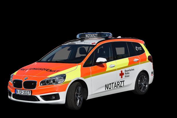 Notarzteinsatzfahrzeug